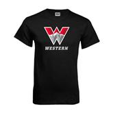 Black T Shirt-W Western