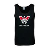 Black Tank Top-W Western
