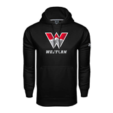 Under Armour Black Performance Sweats Team Hoodie-W Western