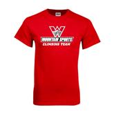 Red T Shirt-Climbing Team