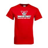 Red T Shirt-Mountain Bike Team