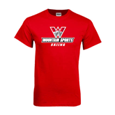 Red T Shirt-Ski Team