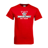 Red T Shirt-Ski Team