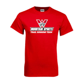 Red T Shirt-Trail Running Team
