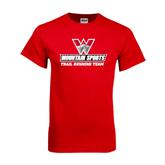 Red T Shirt-Trail Running Team