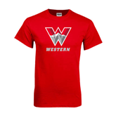 Red T Shirt-W Western