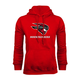 Red Fleece Hoodie-Mad Jack Mountaineers