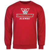 Red Fleece Crew-Alumni