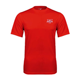 Performance Red Tee-Interlocking W Mountaineers - Official Logo