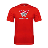 Syntrel Performance Red Tee-W Western