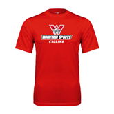 Performance Red Tee-Cycling