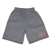Performance Steel 9 Inch Length Shorts-Interlocking W Mountaineers - Official Logo