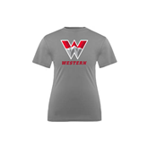 Youth Syntrel Performance Steel Training Tee-W Western