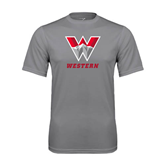 Performance Grey Concrete Tee-W Western