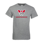 Grey T Shirt-W Mountaineers