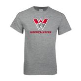 Grey T Shirt-W Mountaineers