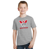 Youth Grey T-Shirt-W Western