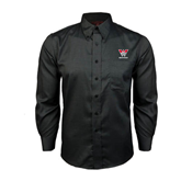 Red House Black Long Sleeve Shirt-W Western