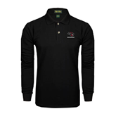 Black Long Sleeve Polo-Mad Jack Mountaineers