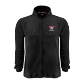 Fleece Full Zip Black Jacket-W Western