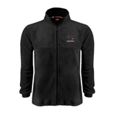 Fleece Full Zip Black Jacket-Mad Jack Mountaineers