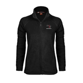 Ladies Fleece Full Zip Black Jacket-Mad Jack Mountaineers