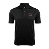 Black Dry Mesh Polo-Mad Jack Mountaineers