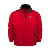 Red Survivor Jacket-Interlocking W Mountaineers - Official Logo