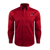 Red House Red Long Sleeve Shirt-Mad Jack Mountaineers