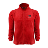 Fleece Full Zip Red Jacket-Mad Jack Mountaineers