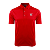 Red Dry Mesh Polo-W Western