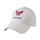 White Heavyweight Twill Pro Style Hat-W Western