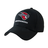 Black Heavyweight Twill Pro Style Hat-Mad Jack Mountaineers