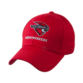 Red Heavyweight Twill Pro Style Hat-Mad Jack Mountaineers