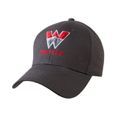 Charcoal Heavyweight Twill Pro Style Hat-W Western