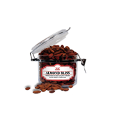Almond Bliss Small Round Canister-Interlocking W Mountaineers - Official Logo