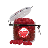 Sweet & Sour Cherry Surprise Round Canister-Interlocking W Mountaineers - Official Logo