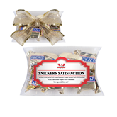 Snickers Satisfaction Pillow Box-Interlocking W Mountaineers - Official Logo
