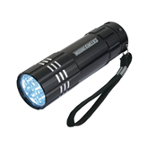 Industrial Triple LED Black Flashlight-Mountaineers Engrave