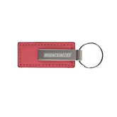 Leather Classic Pink Key Holder-Mountaineers Engrave