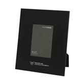 Black Metal 5 x 7 Photo Frame-W Western State Colorado University Engrave