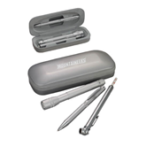 Silver Roadster Gift Set-Mountaineers Engrave