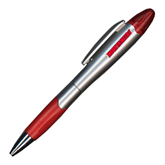 Silver/Red Blossom Pen/Highlighter-Mountaineers