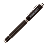 Luna Black Rollerball Pen-Mountaineers Engrave