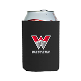 Collapsible Black Can Holder-W Western