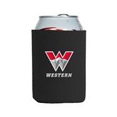 Neoprene Black Can Holder-W Western