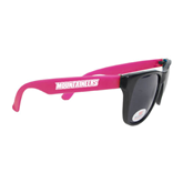 Black/Hot Pink Sunglasses-Mountaineers