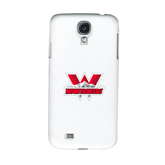 White Samsung Galaxy S4 Cover-Interlocking W Mountaineers - Official Logo