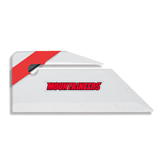 Angled Red Stripe Letter Opener-Mountaineers