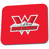 Full Color Mousepad-Interlocking W Mountaineers - Official Logo